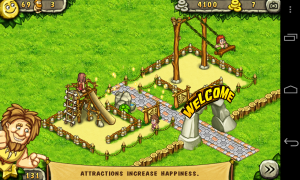 Prehistoric Park - Taking shape