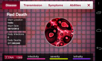 Plague Inc. Diseases