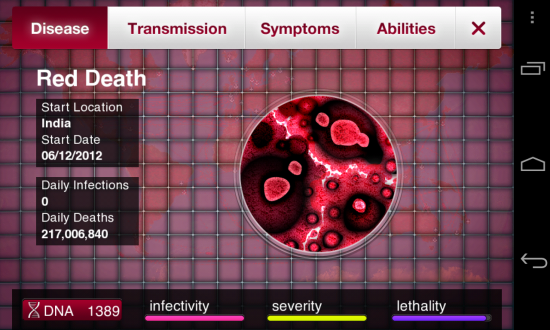 Plague Inc Diseases