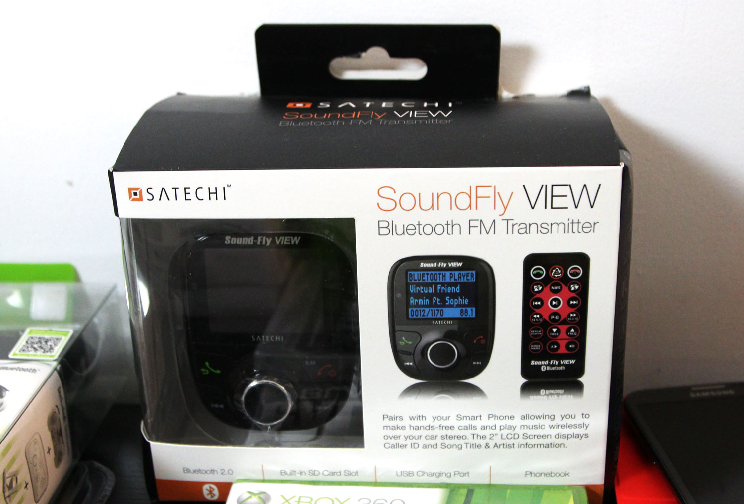 soundfly view bluetooth fm transmitter androidtapp. Black Bedroom Furniture Sets. Home Design Ideas