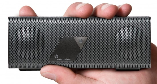 Day 23: #25DaysOfGiveaways – Win a pocket-sized Bluetooth speaker system, the Soundmatters foxLv2 PLATINUM Bluetooth Speaker