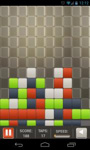 Square Smash Tetris Free - Typical gameplay view (1)