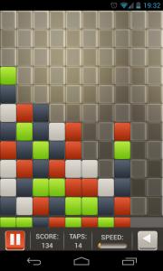 Square Smash Tetris Free - Typical gameplay view (3)
