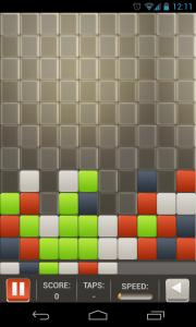 Square Smash Tetris Free - Unlimited taps mode