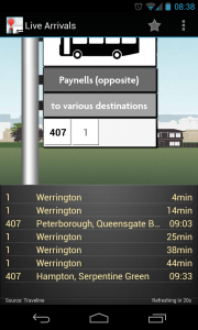 UK Bus Checker - Highlight which bus route to see data on (1)