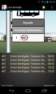 UK Bus Checker - Highlight which bus route to see data on (2)