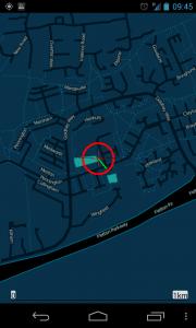 ViewTracker GPS - Cool Midnight map