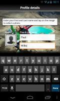 ViewTracker GPS - Create profile