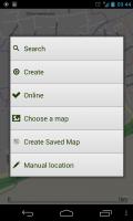 ViewTracker GPS - Menu