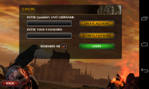 Wild Blood - Gameloft login