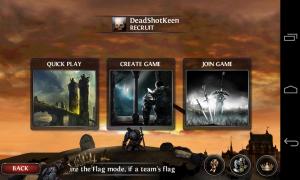 Wild Blood - Multiplayer menu