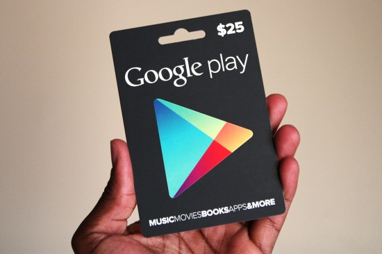 Day 11: #25DaysOfGiveaways – Win $25 Google Play gift card