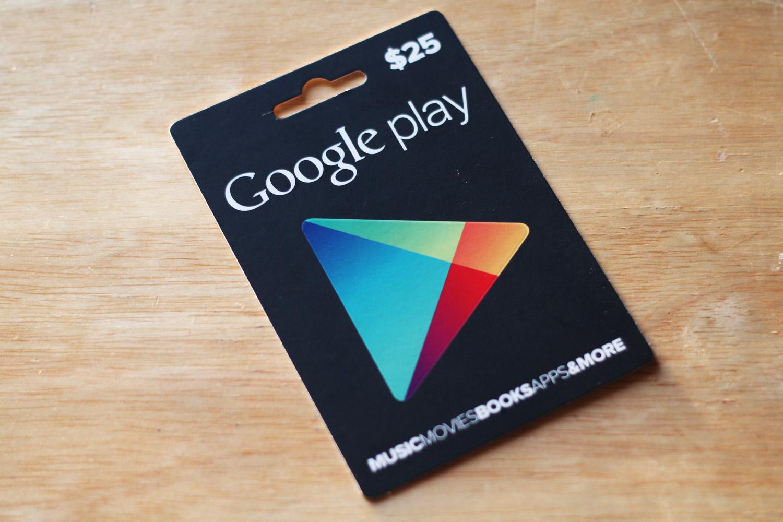 gift an app on google play