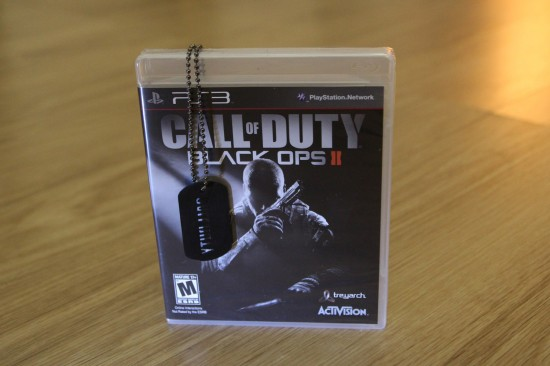 Win Call of Duty Black Ops 2 for PS3 plus Collector's Dog Tag