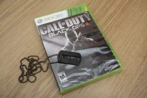 Win Call of Duty Black Ops II for Xbox 360 plus Collector's Dog Tag