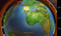 Around the World in 80 days - Globe