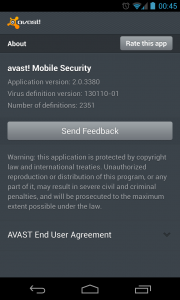 Avast - About