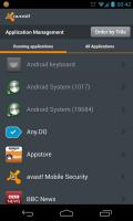 Avast - App management
