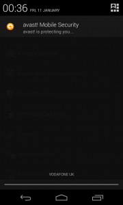 Avast - Notification