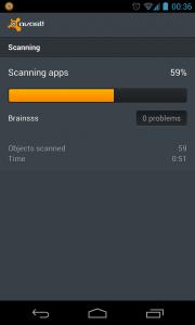 Avast - Scanning