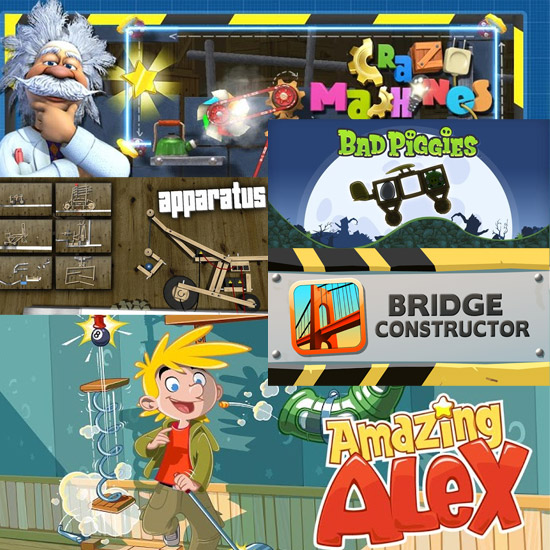 5 Best Apparatus Contraption Building Puzzle Games on Android