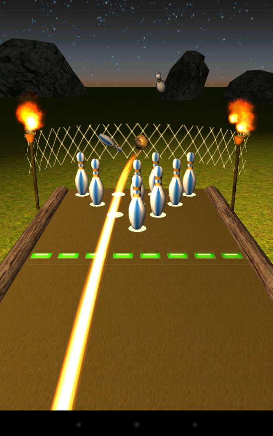 Bowling Paradise Pro – play 10 pins in extravagant 3D environments with up to 4 players