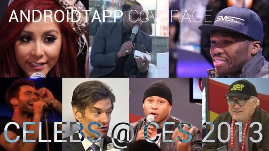 Celebrities Meet Tech at CES 2013