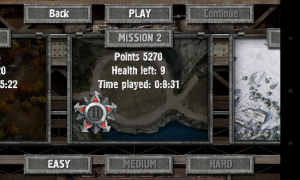 Defense Zone 2 HD - Mission selections
