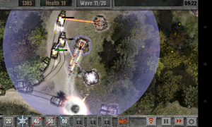Defense Zone 2 HD - Waves get progressively tougher through a mission