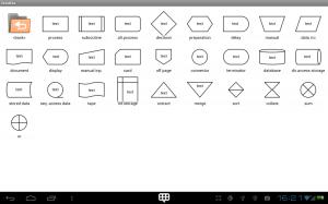 DroidDia flowchart_symbols