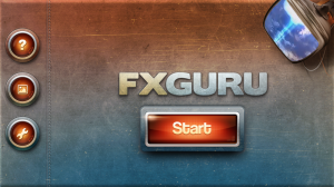 FxGuru Start Screen