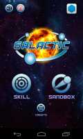 Galactic - Menu