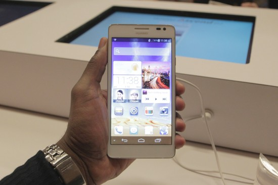 Huawei Ascend D2, a 5 inch 1080p Full HD display Android Powered Smartphone