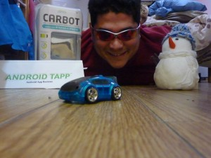 J.C. Bobea Winner a CarBot in #25DayOfGiveawys 2012