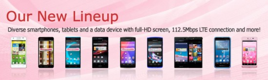 Japan's NTT DOCOMO announces 11 new Android devices; includes Optimus G Pro, Ascend D2, Xperia Z & Xperia Tablet Z