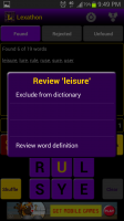 Lexathon Word Jumble Review Words