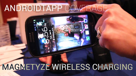 Magnetyze Wireless Charging – Universal Wireless Charging (Hands-on Video)