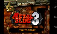 Metal Slug 3 - Front screen