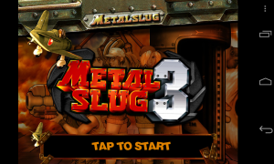 Metal Slug 3 - Front screen