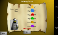 Mythic Diggers - Mining store