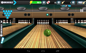 PBA Bowling Challenge Mowing Down the Alley 2
