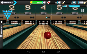 PBA Bowling Challenge Mowing Down the Alley