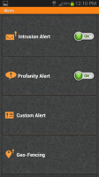 PhoneSheriff Alerts