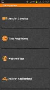 PhoneSheriff Filtering