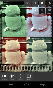 Pixlr Express - Save and gallery