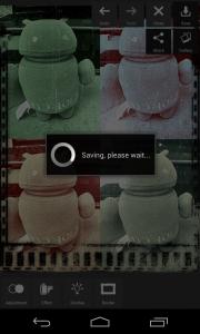 Pixlr Express - Saving