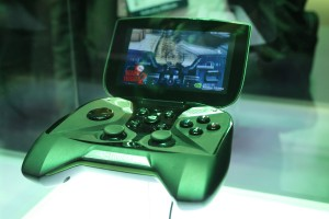Project SHIELD Gaming Tegra 4 Gaming Handheld Playing DEAD TRIGGER 2