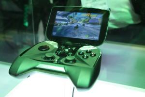 Project SHIELD Gaming Tegra 4 Gaming Handheld Playing Riptide GP