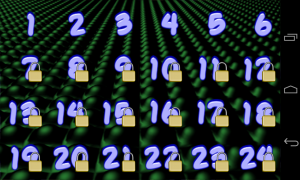 Quantum Explorer - Level select
