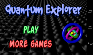 Quantum Explorer - Menu